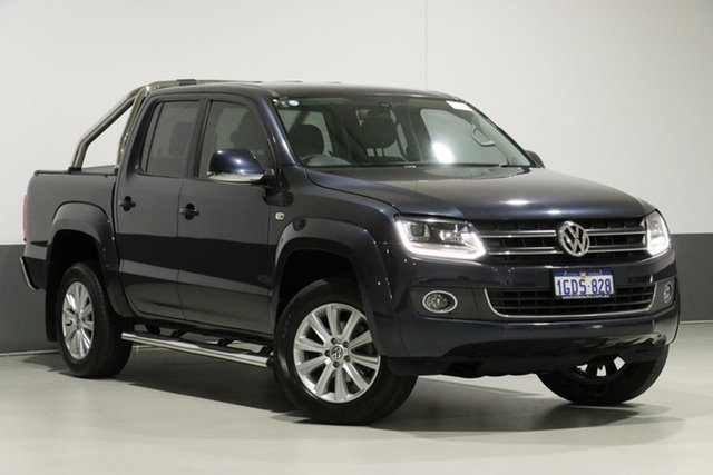 Used Volkswagen Amarok 2H MY16 TDI420 Highline (4x4), 2016 Volkswagen Amarok 2H MY16 TDI420 Highline (4x4) Blue 8 Speed Automatic Dual Cab Utility