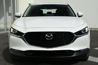 2020 Mazda CX-30 DM2WLA G25 SKYACTIV-Drive Touring White 6 Speed Sports Automatic Wagon