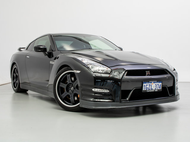 Used Nissan GT-R R35 MY13 Black Edition, 2013 Nissan GT-R R35 MY13 Black Edition Black 6 Speed Auto Dual Clutch Coupe