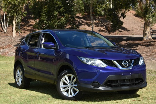 Used Nissan Qashqai J11 ST, 2017 Nissan Qashqai J11 ST Blue 1 Speed Constant Variable Wagon