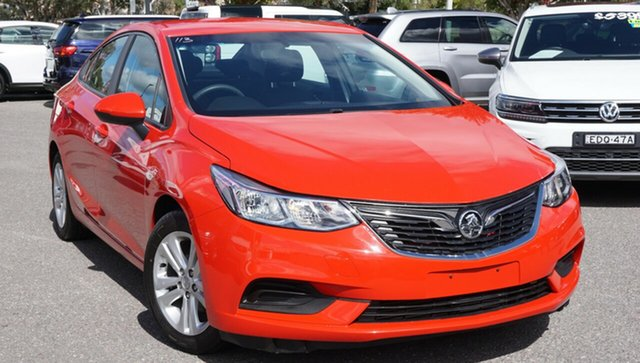 Used Holden Astra BL MY17 LS, 2017 Holden Astra BL MY17 LS Red 6 Speed Sports Automatic Sedan