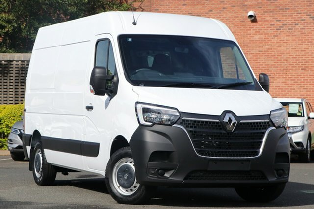 New Renault Master X62 Phase 2 MY21 Pro Mid Roof MWB 120kW Nailsworth, 2021 Renault Master X62 Phase 2 MY21 Pro Mid Roof MWB 120kW Mineral White 6 Speed Manual Van