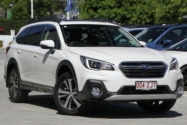 Demo Subaru Outback B6A MY19 2.5i CVT AWD Premium, 2019 Subaru Outback B6A MY19 2.5i CVT AWD Premium White Crystal 7 Speed Constant Variable Wagon