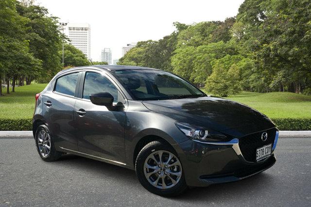 Demo Mazda 2 DJ2HAA G15 SKYACTIV-Drive Pure, 2020 Mazda 2 DJ2HAA G15 SKYACTIV-Drive Pure Machine Grey 6 Speed Sports Automatic Hatchback