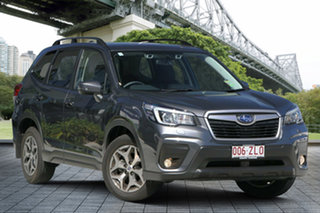 2019 Subaru Forester S5 MY20 2.5i-L CVT AWD Magnetite Grey 7 Speed Constant Variable Wagon.