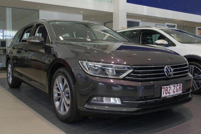 Demo Volkswagen Passat 3C (B8) MY19 132TSI DSG, 2019 Volkswagen Passat 3C (B8) MY19 132TSI DSG Manganese Grey Metallic 7 Speed
