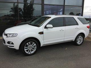 2014 Ford Territory SZ MK2 TS (RWD) White 6 Speed Automatic Wagon.