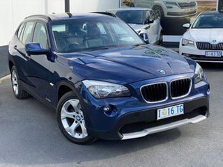 2012 BMW X1 E84 MY0312 sDrive20d Steptronic Blue 6 Speed Sports Automatic Wagon.