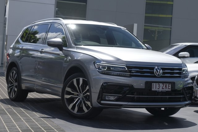 Demo Volkswagen Tiguan 5N MY19.5 162TSI Highline DSG 4MOTION Allspace, 2019 Volkswagen Tiguan 5N MY19.5 162TSI Highline DSG 4MOTION Allspace Pyrit Silver Metallic 7 Speed