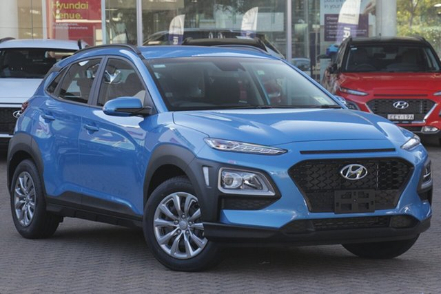 New Hyundai Kona OS.3 MY20 Go 2WD, 2020 Hyundai Kona OS.3 MY20 Go 2WD Blue Lagoon 6 Speed Sports Automatic Wagon