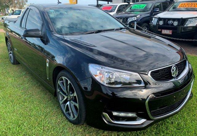 Used Holden Ute VF II MY16 SS V Ute, 2016 Holden Ute VF II MY16 SS V Ute Black 6 Speed Manual Utility