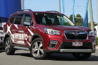 2020 Subaru Forester S5 MY20 Hybrid S CVT AWD Crimson Red 7 Speed Constant Variable Wagon Hybrid.