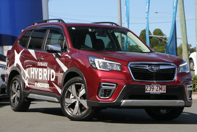 Demo Subaru Forester S5 MY20 Hybrid S CVT AWD, 2020 Subaru Forester S5 MY20 Hybrid S CVT AWD Crimson Red 7 Speed Constant Variable Wagon Hybrid