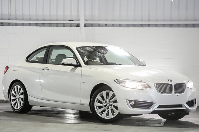 Used BMW 2 Series F22 220i Modern Line, 2015 BMW 2 Series F22 220i Modern Line White 8 Speed Sports Automatic Coupe