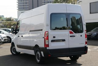 2021 Renault Master X62 Phase 2 MY21 Pro Mid Roof MWB AMT 110kW Mineral White 6 Speed.