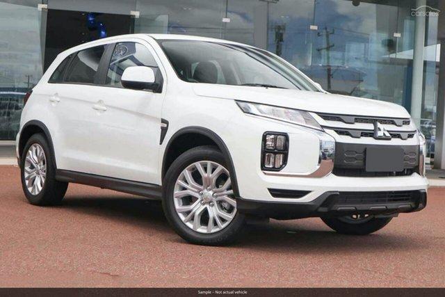 Demo Mitsubishi ASX XD MY20 ES 2WD, 2020 Mitsubishi ASX XD MY20 ES 2WD White 6 Speed Constant Variable Wagon