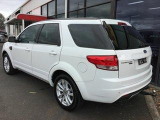 2014 Ford Territory SZ MK2 TS (RWD) White 6 Speed Automatic Wagon