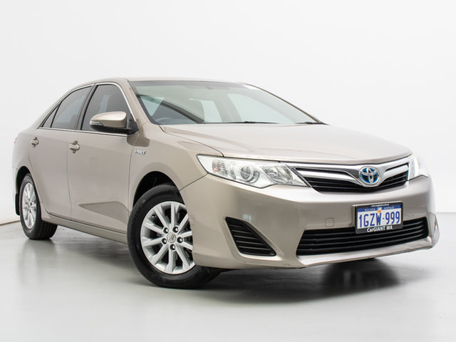 Used Toyota Camry AVV50R Hybrid H, 2015 Toyota Camry AVV50R Hybrid H Brown Continuous Variable Sedan