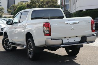 2020 Mitsubishi Triton MR MY20 GLX-R Double Cab White 6 Speed Manual Utility.