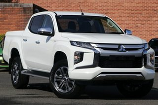 2020 Mitsubishi Triton MR MY20 GLX-R Double Cab White 6 Speed Sports Automatic Utility.