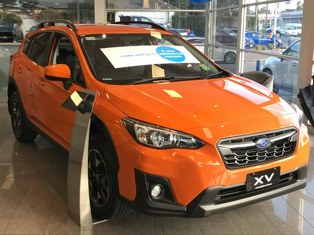 New Subaru XV G5X MY20 2.0i-L Lineartronic AWD, 2020 Subaru XV G5X MY20 2.0i-L Lineartronic AWD Sunshine Orange 7 Speed Constant Variable Wagon