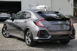 2020 Honda Civic 10th Gen MY20 VTi-LX Modern Steel 1 Speed Constant Variable Sedan