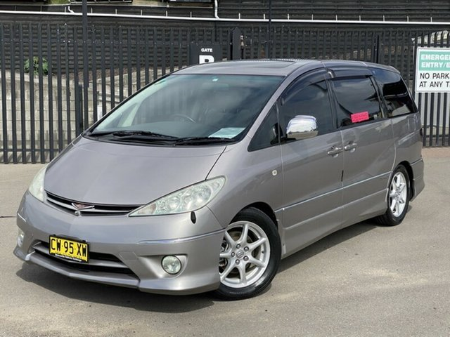 Used Toyota Estima  , 2005 Toyota Estima 3.0 Aeras T Premium Beige 5 Speed Automatic Wagon
