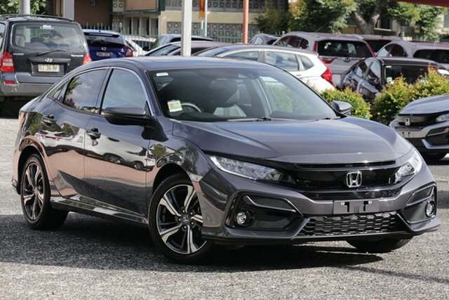 New Honda Civic 10th Gen MY20 VTi-LX Mount Gravatt, 2020 Honda Civic 10th Gen MY20 VTi-LX Modern Steel 1 Speed Constant Variable Sedan