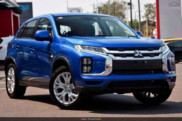 Demo Mitsubishi ASX XD MY20 ES 2WD, 2020 Mitsubishi ASX XD MY20 ES 2WD Blue 6 Speed Constant Variable Wagon