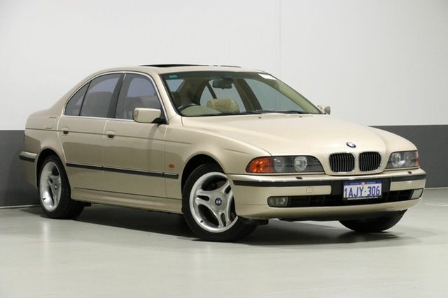 Used BMW 540i E39 , 1999 BMW 540i E39 Gold 5 Speed Auto Steptronic Sedan
