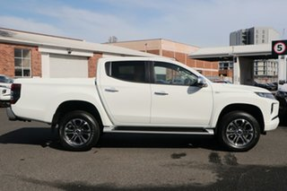2020 Mitsubishi Triton MR MY20 GLX-R Double Cab White 6 Speed Manual Utility