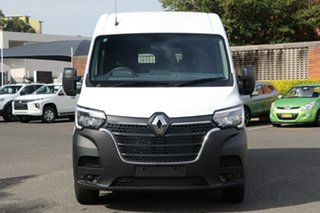 2021 Renault Master X62 Phase 2 MY21 Pro Mid Roof MWB AMT 110kW Mineral White 6 Speed