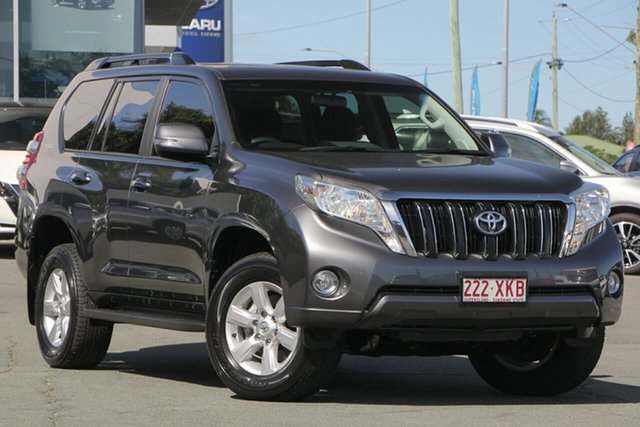 Used Toyota Landcruiser Prado GDJ150R GXL, 2017 Toyota Landcruiser Prado GDJ150R GXL Grey 6 Speed Sports Automatic Wagon