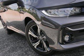 2020 Honda Civic 10th Gen MY20 VTi-LX Modern Steel 1 Speed Constant Variable Sedan.