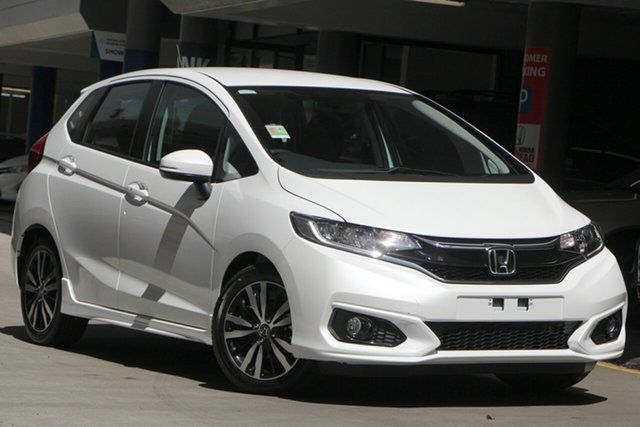 New Honda Jazz GF MY20 VTi-L, 2019 Honda Jazz GF MY20 VTi-L Platinum White 1 Speed Constant Variable Hatchback