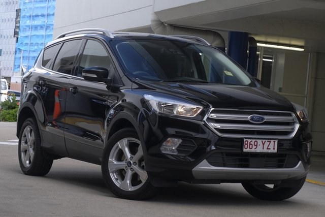 Demo Ford Escape ZG 2019.25MY Trend PwrShift AWD, 2019 Ford Escape ZG 2019.25MY Trend PwrShift AWD Shadow Black 6 Speed Sports Automatic Dual Clutch