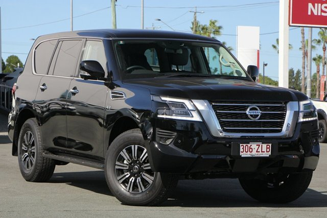 Demo Nissan Patrol Y62 Series 5 MY20 TI, 2019 Nissan Patrol Y62 Series 5 MY20 TI Kh3 7 Speed Sports Automatic Wagon
