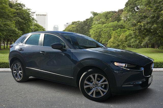 Demo Mazda CX-30 DM2W7A G20 SKYACTIV-Drive Evolve, 2019 Mazda CX-30 DM2W7A G20 SKYACTIV-Drive Evolve Polymetal Grey 6 Speed Sports Automatic Wagon