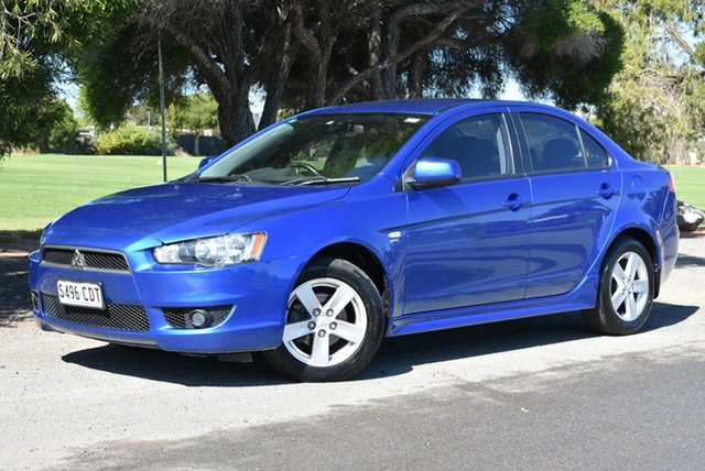 Used Mitsubishi Lancer CJ MY08 VR, 2007 Mitsubishi Lancer CJ MY08 VR Blue 5 Speed Manual Sedan