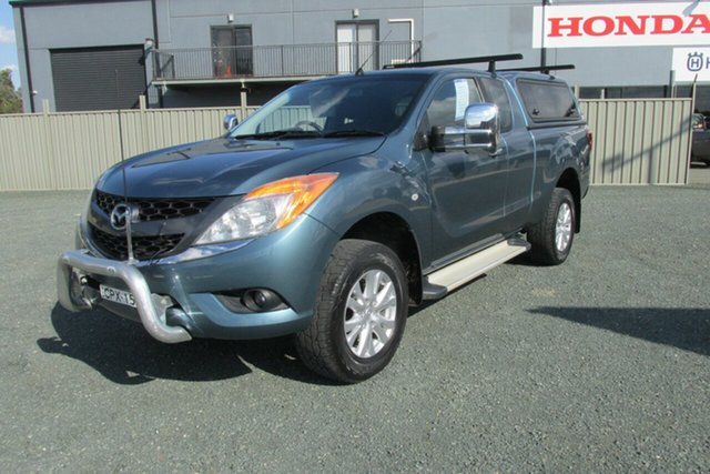 Used Mazda BT-50 UP0YF1 XTR Freestyle, 2013 Mazda BT-50 UP0YF1 XTR Freestyle Blue 6 Speed Sports Automatic Utility