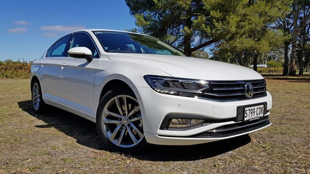 Demo Volkswagen Passat 3C (B8) MY20 140TSI DSG Business Tanunda, 2019 Volkswagen Passat 3C (B8) MY20 140TSI DSG Business Pure White 7 Speed