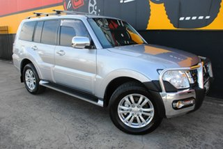 2016 Mitsubishi Pajero NX MY16 GLS Cool Silver 5 Speed Sports Automatic Wagon.