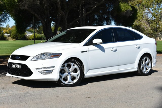 Used Ford Mondeo MC Titanium PwrShift EcoBoost, 2013 Ford Mondeo MC Titanium PwrShift EcoBoost White 6 Speed Sports Automatic Dual Clutch Hatchback