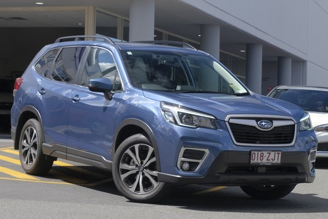 Demo Subaru Forester S5 MY20 2.5i Premium CVT AWD, 2019 Subaru Forester S5 MY20 2.5i Premium CVT AWD Horizon Blue 7 Speed Wagon