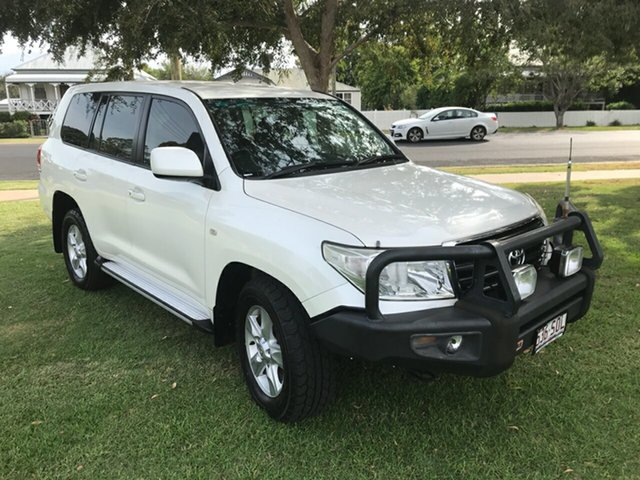 Used Toyota Landcruiser VDJ200R MY10 Altitude, 2011 Toyota Landcruiser VDJ200R MY10 Altitude White 6 Speed Sports Automatic Wagon