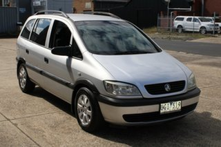 2005 Holden Zafira TT Silver 4 Speed Automatic Wagon.
