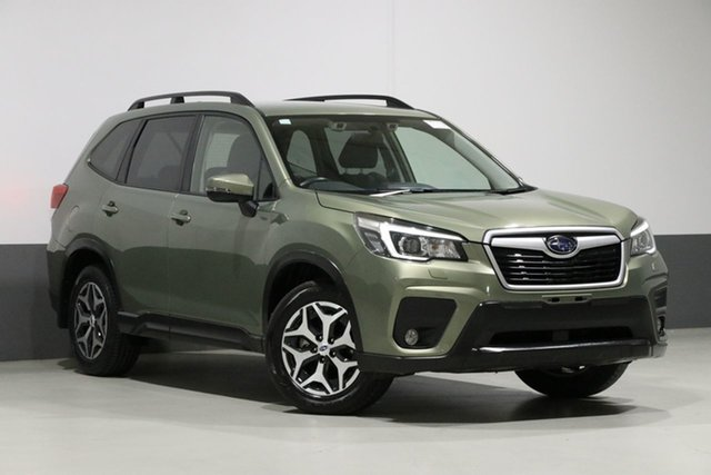 Used Subaru Forester MY19 2.5I (AWD), 2019 Subaru Forester MY19 2.5I (AWD) Jasper Green Continuous Variable Wagon