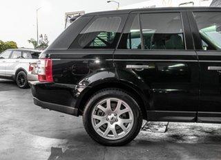 2009 Land Rover Range Rover Sport L320 10MY TDV8 Black 6 Speed Sports Automatic Wagon