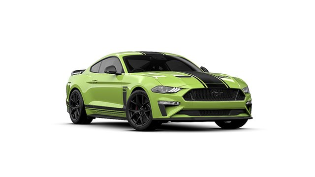 New Ford Mustang FN 2020MY R-Spec Christies Beach, 2020 Ford Mustang FN 2020MY R-Spec Grabber Lime 6 Speed Manual Fastback