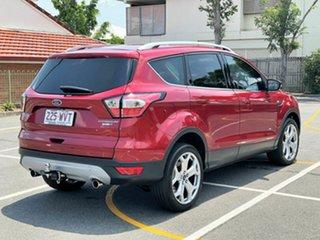2016 Ford Escape ZG Titanium Maroon 6 Speed Sports Automatic Dual Clutch SUV.